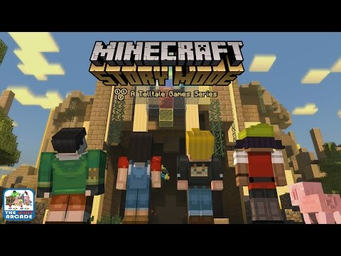 Minecraft: Story Mode - The Order of the Stone, Chapter 6 (Xbox One Gameplay, Playthrough)