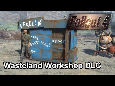 【Fallout 4】試玩 Wasteland Workshop DLC 異塵餘生4 中文字幕