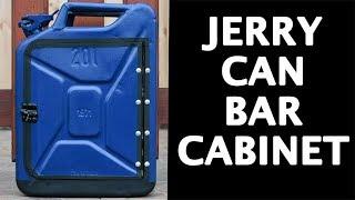 DIY JERRY CAN BAR CABINET (BEER HOLDER)