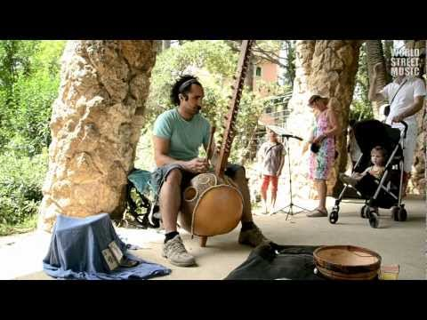 Yerko Fuenzalida: Kora Player live in Barcelona #2 (HD)
