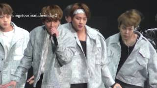 Video 170402 BTS Anaheim day2 NOT TODAY taehyung V focus download MP3, 3GP, MP4, WEBM, AVI, FLV November 2017