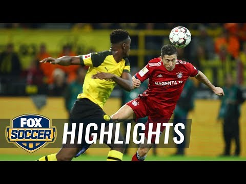 Robert Lewandowski puts Bayern Munich up 1-0 vs. Borussia Dortmund | 2018-19 Bundesliga Highlights Mp3