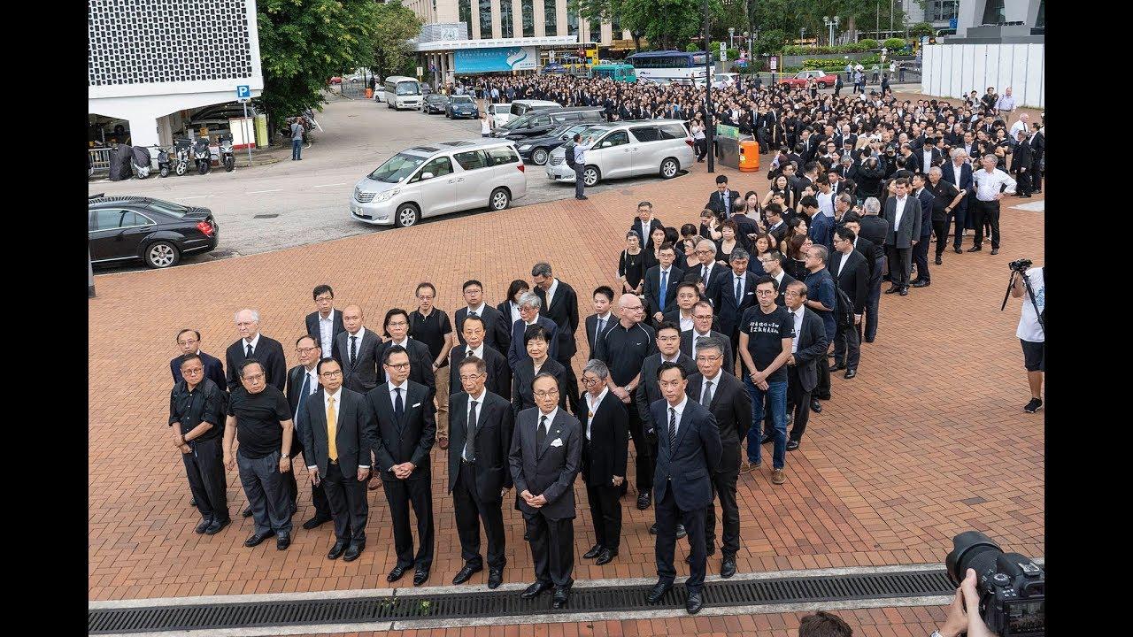 (回歸後法律界最大憤怒)近三千人黑衣大遊行反對送中引渡惡 ...