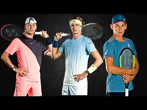 Best Wonderboys In Tennis ● Young Talents 2019