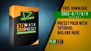EDIUS MASK EFFECT PRESET PACK | FREE DOWNLOAD | USE WEDDING TITLE | SONG PROJECT |