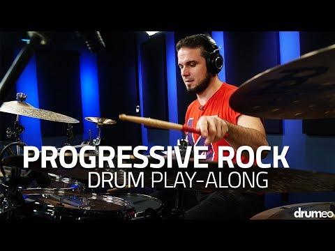 Progressive Rock Drum Play-Along -