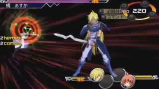 Heroes Phantasia PSP - Gameplay