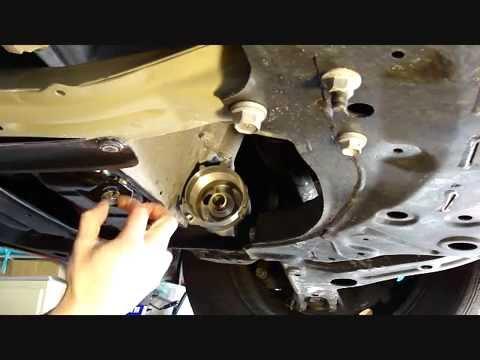 Oil Change Procedure For The 2014 Toyota Corolla - YouTube