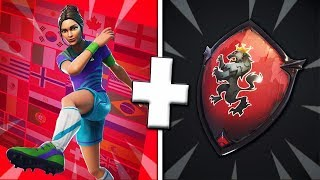 "5 COMBO OF SKIN WITH THE SKIN ""DECISIVE PLAYER"" ON FORTNITE!"