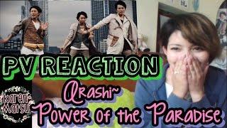 PV Reaction | 嵐 Arashi- Power of the Paradise | VLOG 06 (eng. Subs)