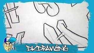 Graffiti Alphabets Letter H - Buchstabe H - Letra H