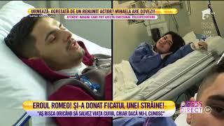 Un tanar de 23 de ani a donat o parte din ficatul sau, pentru a-i salva viata unei fete ne ...
