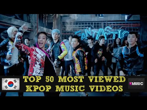 Top 50 Most Viewed K-Pop Music Videos of All Time [April, 2015]