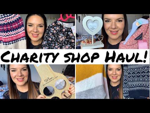 Charity Shop Haul | Thrift Haul | Fat Face | Zoella | Home Decor | Kate McCabe