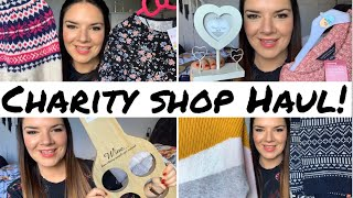 Charity Shop Haul | Thrift Haul | Fat Face | Zoella | Home Decor | Kate McCabe