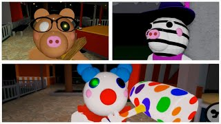 Roblox Piggy Chapter 8 ALL JUMPSCARES + ENDING