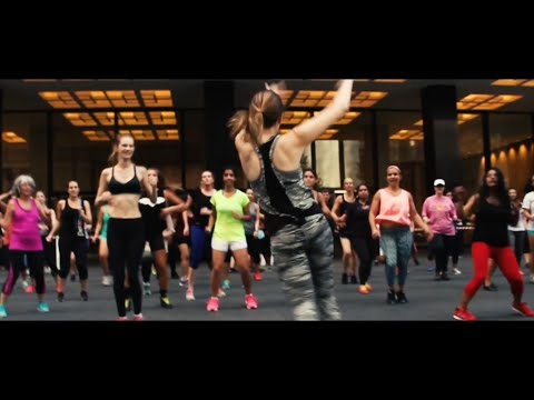 Teaching a Zumba class - Day 80