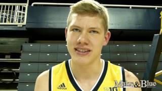 Moritz Wagner talks transition to Michigan