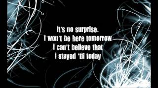 No Surprise -- Daughtry (Lyrics)