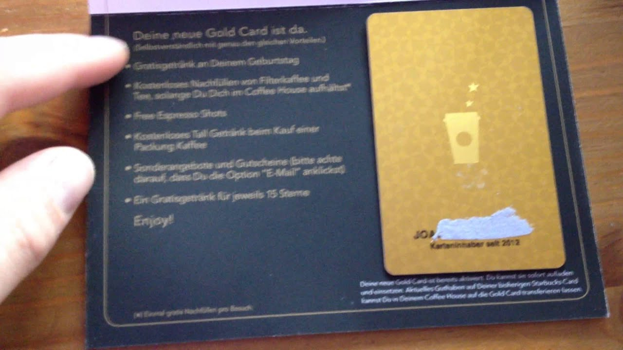 how to get starbucks partner gold card
