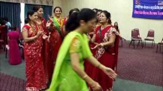www.nepalmother.com presents Nepali Teej geet dance 2009 Manassas USA part - 6