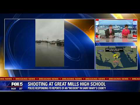Maryland high school student gives witness account of shooting at Great Mills High School