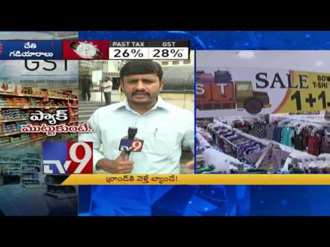 GST band on branded items ! - TV9