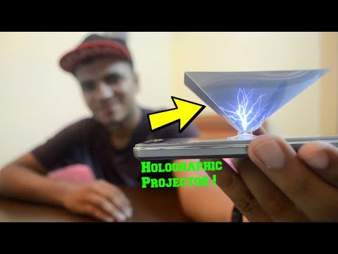3D Hologram Pyramid ! Works With Every Smartphone ! Watch Holographic Videos On Your Mobile
