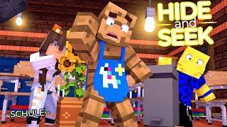 VERSTECKEN IN DER SCHULE! (Minecraft Hide and Seek)