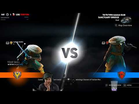 For Honor HIGH MMR - ARAMUSHA vs ARAMUSHA! - REALLY HIGH LEVEL FIGHTS GREAT PLAYER!
