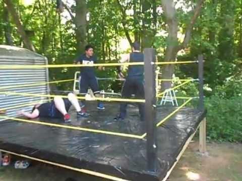 backyard wrestling stairway to heaven title match part 1of2 gbwf