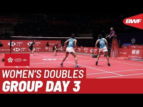 Group B | WD | LEE/SHIN (KOR) Vs. KITITHARAKUL/PRAJONGJAI (THA) | BWF 2019