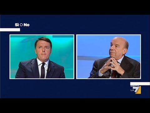 Referendum Si o No LA 7 - Matteo Renzi vs Gustavo Zagrebelsky