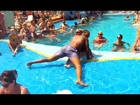 GoPro 4 - World Sexiest Man Contest on Royal Caribbean Cruise ship