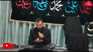 Ghareeb e Zehra ki Ghurbat Suno.. (SALAAM)..Recited By Syed Meesam Raza Sb.
