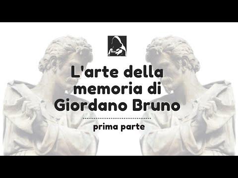 'L'arte della memoria di Giordano Bruno' - prima parte