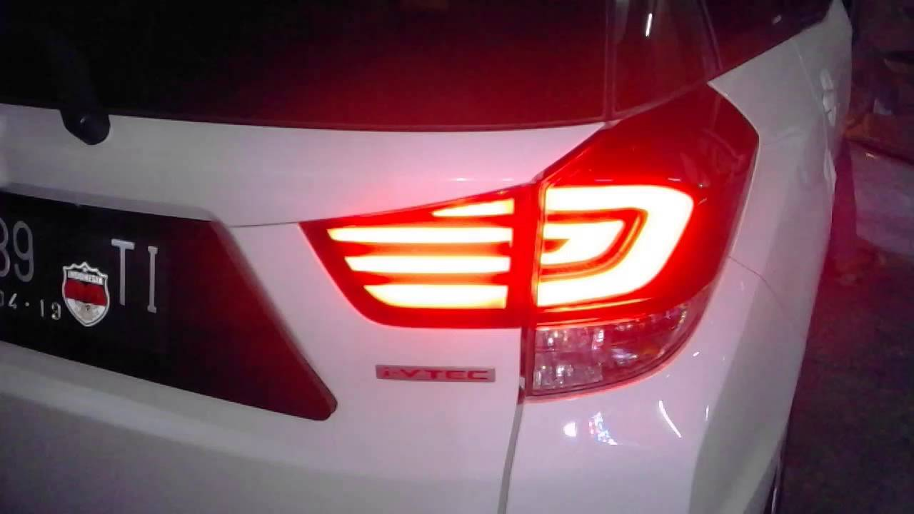Stop lamp HONDA mobilio LED COSTUM - YouTube