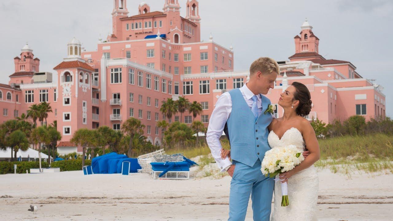 Wedding At Don Cesar St Pete Beach