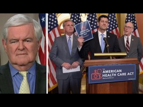 Newt Gingrich outlines why GOP health care bill failed