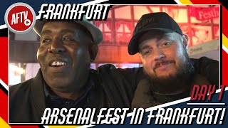 Robbie & DT's ArsenalFest in Frankfurt! | Europa League Away Day VLOG DAY 1