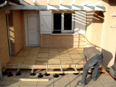 Caillebotis en rouleaux 131 mpg youtube - Terrasse en caillebotis ...