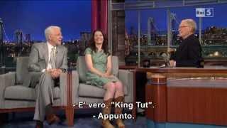 Steve Martin & Edie Brickell @ David Letterman Show 23/04/13 SUB ITA