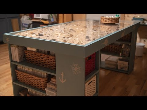 How To Make A Craft Table With A Seascape
