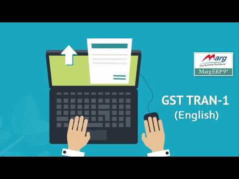 GST Returns - TRAN-1 (HSN Wise Stock Statement) in Marg ERP [English]