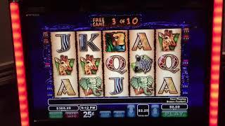 Wild life slot machine bonus