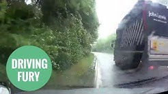 Dashcam shows John Lewis truck forcing learner off the road