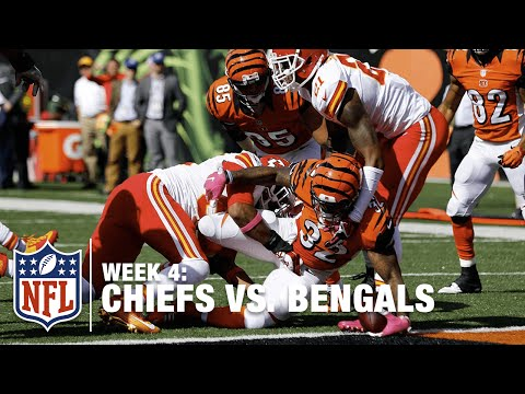 Jeremy Hill Busts Through the Chiefs Defense for a TD | Chiefs vs. Bengals | NFL