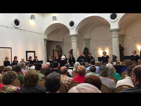 Wade in the Water played by Brookhaven College Handbell Ensemble
