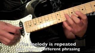 Santana - Europa - Guitar Lesson