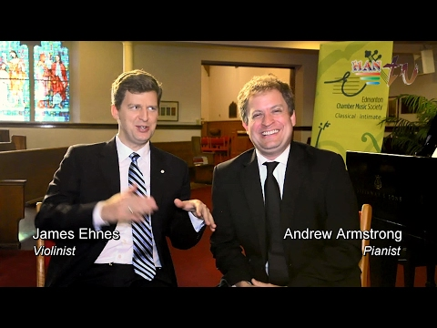 HanTV - Meet world-class musicians James Ehnes and Andrew Armstrong